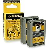 2x Batterie PS-BLN1 | BLN-1 pour Olympus OM-D E-M1 | OM-D E-M5 | Pen E-P5 | Stylus XZ-2