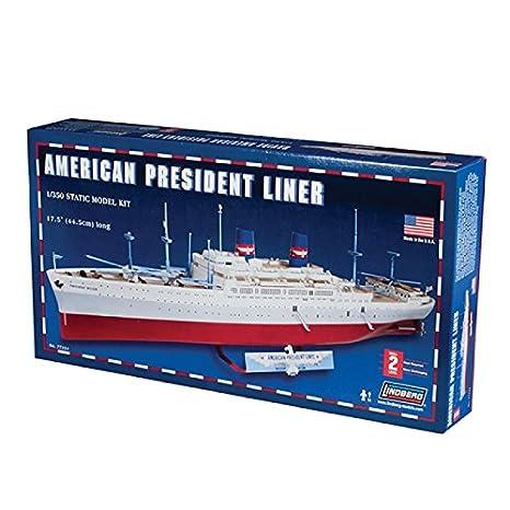 Linberg 77224 President Wilson 1:350 Plastic Kit Maquette