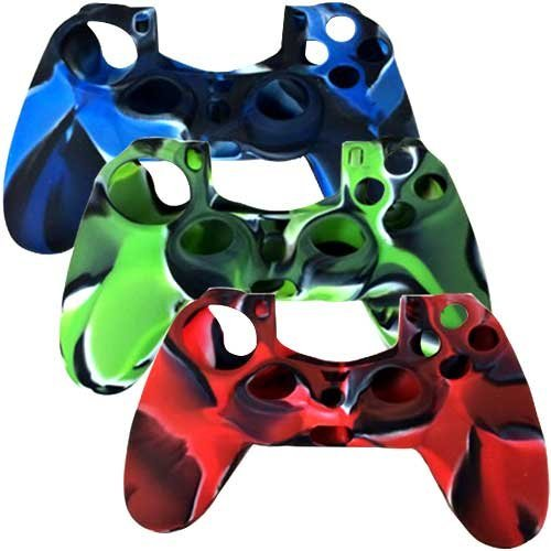 Silicone-Skin-Protective-Cover-for-PS4-PlayStation-4-Controller