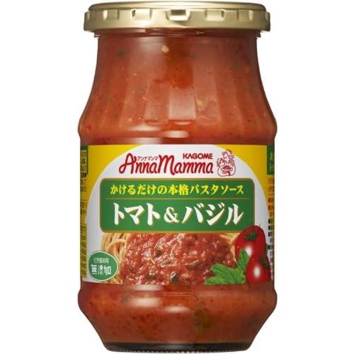 カゴメ アンナマンマ トマト&バジル 330g×6個
