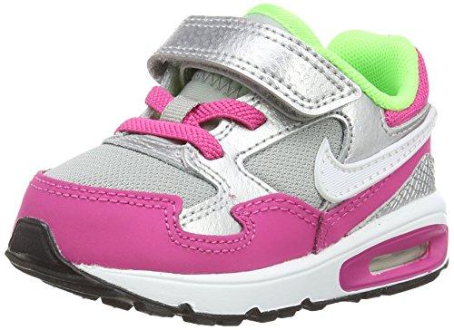 Nike Air Max St (tdv), Baby Mädchen Lauflernschuhe, Mehrfarbig (hot Pink/white/metallic Silver/mint), 27 EU (9.5 UK)