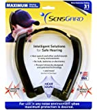 SensGard ZEM SG-31 Hearing Protection Device NRR 31dB (Black)
