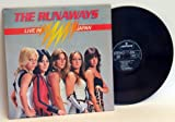 The Runaways THE RUNAWAYS Live in Japan . First press 1977, top loading cover, on Mercury, printed in France
