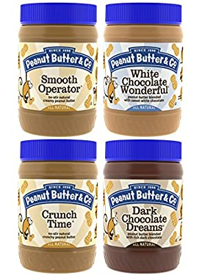 Peanut Butter & Co. Top Sellers Pack, 16 Ounce Jars (Pack of 4) from Peanut Butter & Co