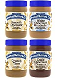Peanut Butter & Co. Top Sellers Pack, 16 oz, (Pack of 4)