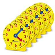 Learning Resources Gear Clock, 4 Inch…