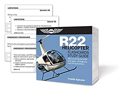 ASA R22 Helicopter Flash Cards
