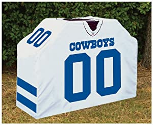 "60"" Huge NFL Dallas Cowboys Jersey Style Outdoor Grill Cover"