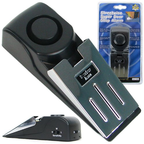 NEW Super Door Stop Alarm - Great for Traveling - As Seen on TV (As Seen on TV)