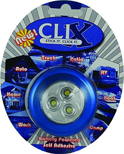 Vision X Hil-Clixb Clix Blue Battery Powered Led 3-Pod Light
