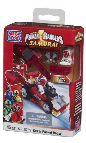 Mega Bloks Power Rangers Deker Pocket Racer - 1
