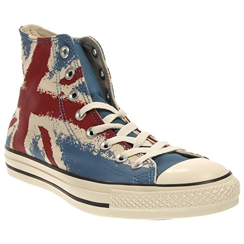 Converse Chuck Taylor Hi (Unisex) Unisex Fashion Shoes 149497F Size 10 D(M) US Men/12 B(M) US Women D (Standard Width) Atlantic/Chili