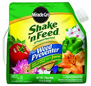 MagaMallGroup Miracle-Gro Shake 'N Feed Plus All-Purpose Weed Preventer at Sears.com