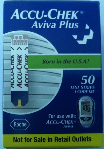 ACCU-CHEK Aviva Mail Order Test Strips, 50-Count