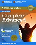 img - for Complete Advanced Student's Book Pack (Student's Book with Answers with CD-ROM and Class Audio CDs (2)) book / textbook / text book