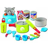 Team Power Cooking Camping Set with Light and Sound Stove