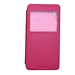 NILLKIN Sparkle Flip Cover For HTC Desire 820 - PINK