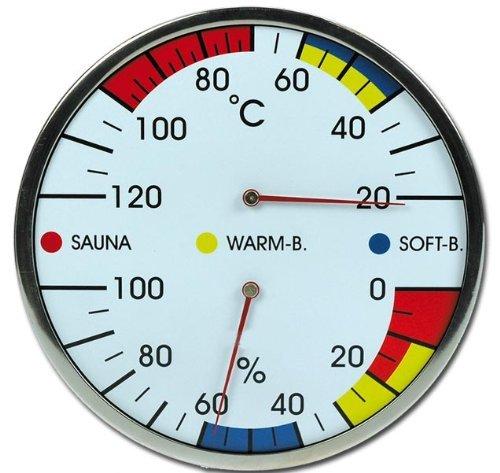 Sauna Kombiinstrument Thermometer Hygrometer