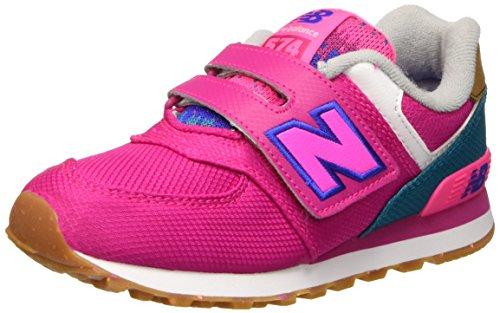 New Balance NBKV574T4P Scarpe Walking Baby Bambino, Rosa (Pink Blue), 28 1/2