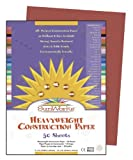 "SunWorks Construction Paper, 9""X12"", Holiday Red, 50 Sheets"