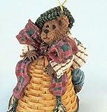 Boyds Bears & Friends Longaberger 2002 Michael Jinglebeary Christmas Ornament