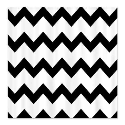 Best Black And White Chevron Shower Curtain Reviews Black And - Black and white chevron shower curtain