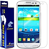 ArmorSuit MilitaryShield Samsung Galaxy S3 Screen Protector Shield and Lifetime Replacements AT&T, Verizon, T-Mobile, Sprint, U.S. Cellular