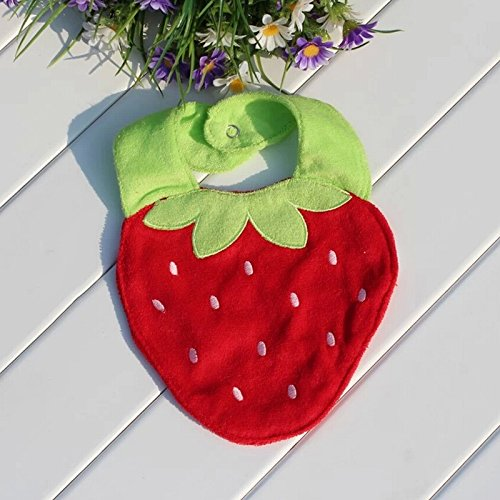 Redcolourful-3D Three-Dimensional Soft Baby Bibs front-907536