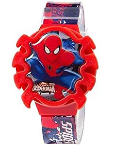Spider-Man LCD Watch with Flip Top Lid