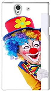 Timpax Light Weight One-piece construction Hard Back Case Cover Printed Design : A Joker.Specifically Design For : Sony L36-H ( Sony 36 )