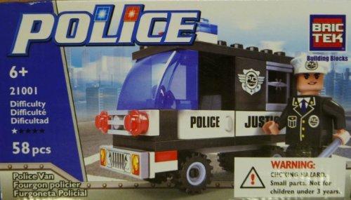 Brictek 21001 Police Van