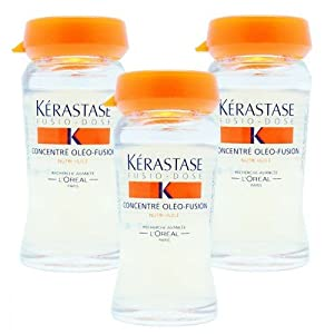 L'Oreal Kerastase Fusio-Dose Concentre Oleo-Fusion Intensive Nutritive Treatment ( 3 Vials ) 3 x 12ml/0.4oz Vials