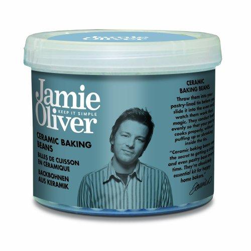 Jamie Oliver - Confezione di fagioli di ceramica per la cottura di pasta frolla e affini in forno/microonde