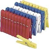 Pinzas para tender la ropa (plástico, 50 unidades.)