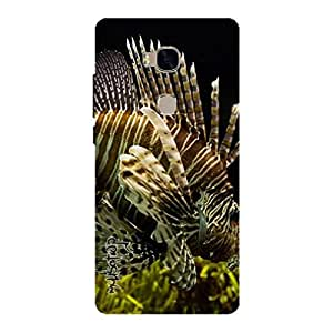 Premium Quality Mousetrap Printed Designer Full Protection Back Cover for Huawei Honor 5X-9