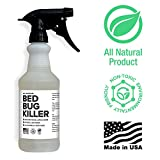 Bed Bug Spray By Killer Green - Best Non-toxic All Natural Killer & Treatment of Bedbugs 100% Risk Free Guarantee for Your Home, Hotel or Hospital. Traps Like a Powder and Kills on Contact. Acts As a Repellent for 2 Weeks. Sleep in Peace!