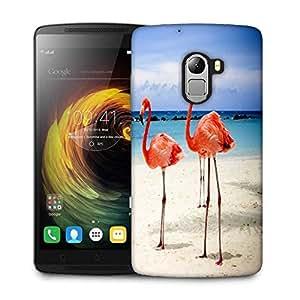 Snoogg Flamingos Designer Protective Phone Back Case Cover For Lenovo Vibe K4 Note
