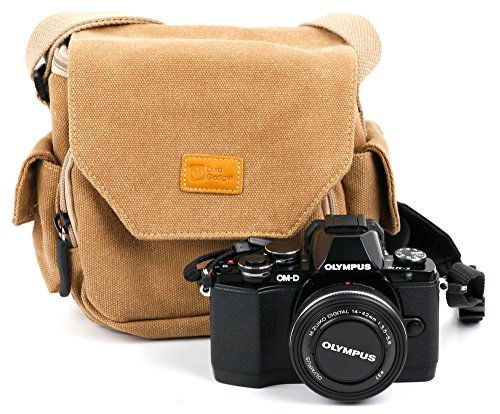 duragadget-tan-brown-medium-sized-canvas-carry-bag-for-new-olympus-om-d-e-m5-mark-ii-with-multiple-p
