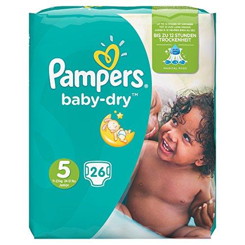 Pampers Baby Dry Gr, 5 Junior 11-25 kg 4 x 26 pcs