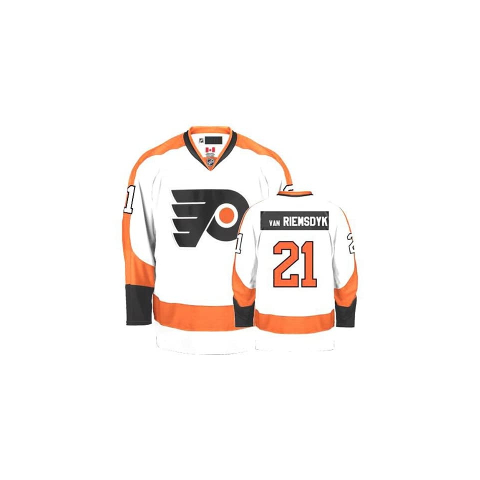James van Riemsdyk  21 Philadelphia Flyers Jersey White Hockey Jerseys f841f0f14