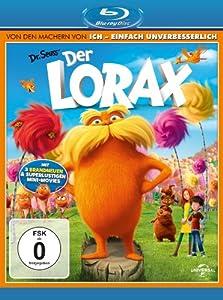 Der Lorax [Blu-ray] [Import allemand]