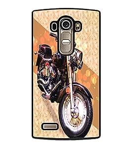 PrintDhaba Bike D-3432 Back Case Cover for LG G4 (Multi-Coloured)