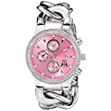 Jivago Women's JV1228 Lev Analog Display Swiss Quartz Silver Watch