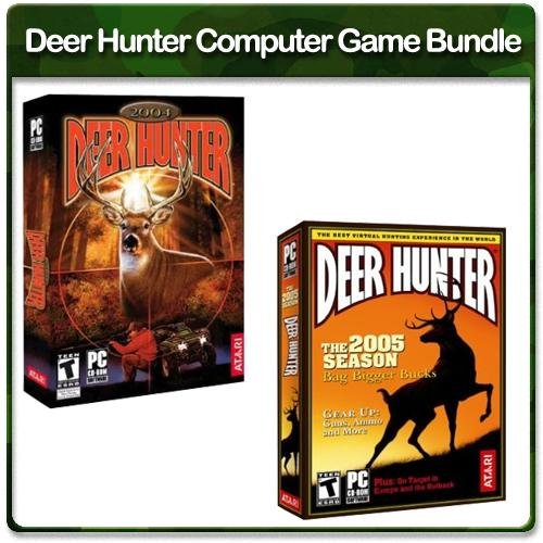 Atari Deer Hunter Computer Game Bundle