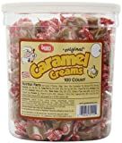Goetzes Caramel Creams Candy Tub, 100 Count