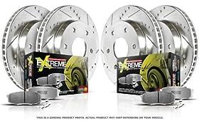 Power Stop K114-26 1-Click Street Warrior Z26 Brake Kit