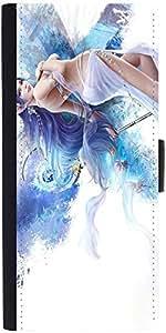 Snoogg Jap Angel Designer Protective Flip Case Cover For Lg G3