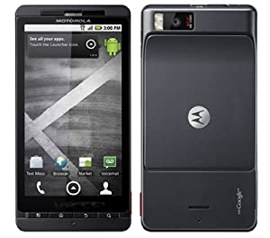 Motorola Droid X MB810 Verizon Phone 8MP Camera, GPS, WiFi, Bluetooth (Black) B