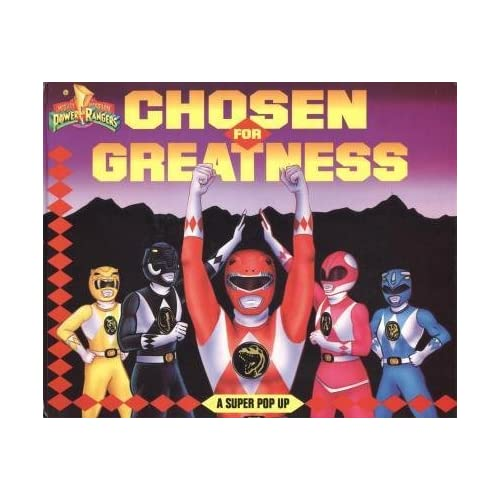 Mighty Morphin Power Rangers: Chosen for Greatness -- A Super Pop Up, Brown Wells and Jacobs