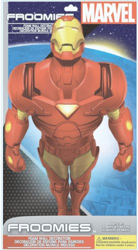 Marvel Handcut Froomies Foam Wall Decorations - Iron Man by Cohen Hazan - 1